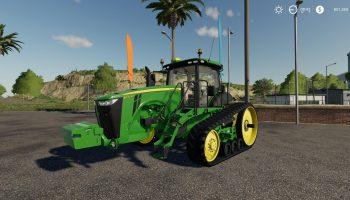 JOHN DEERE 8RT V1.0 для Farming Simulator 2019