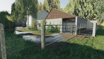 LA VALLEE AGRICOLE V2.0 для Farming Simulator 2019