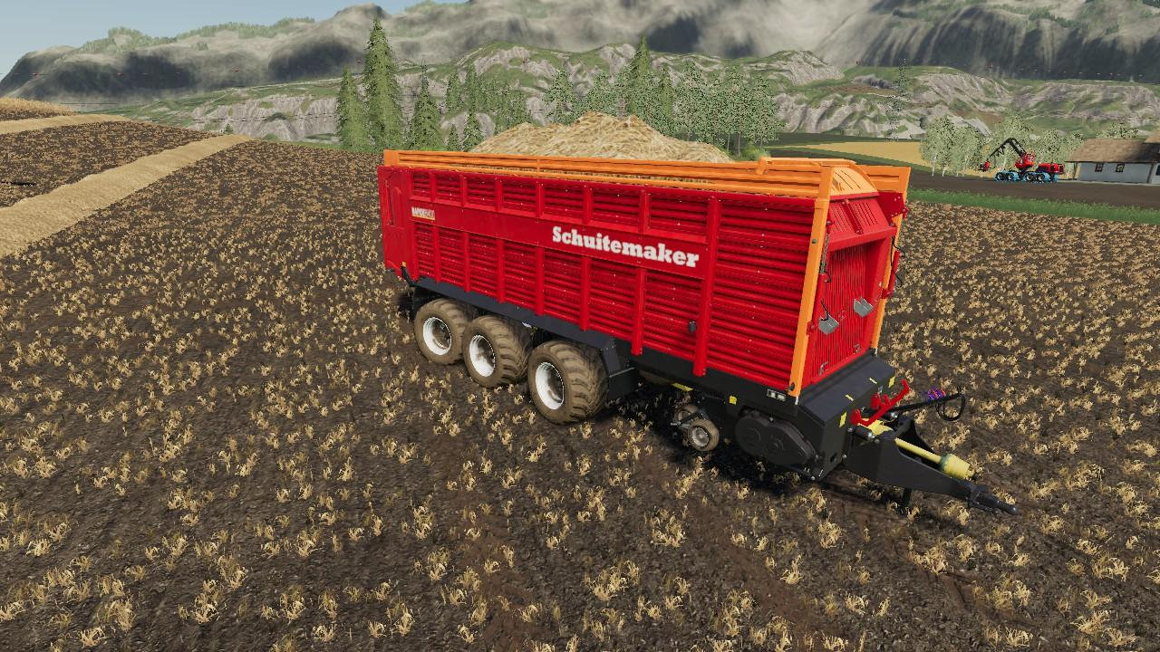 SCHUITEMAKER RAPIDE 8400W 100 V1.0.1 для Farming Simulator 2019