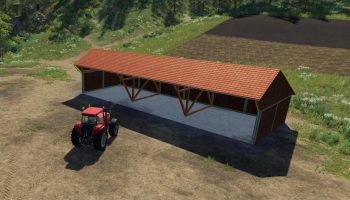 WOOD SHED V1.0 для Farming Simulator 2019