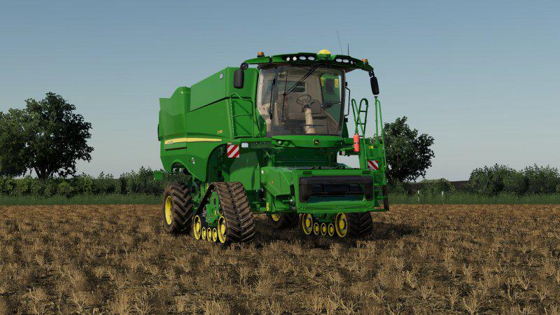 JOHN DEERE S790I EU V1.0 для Farming Simulator 2019