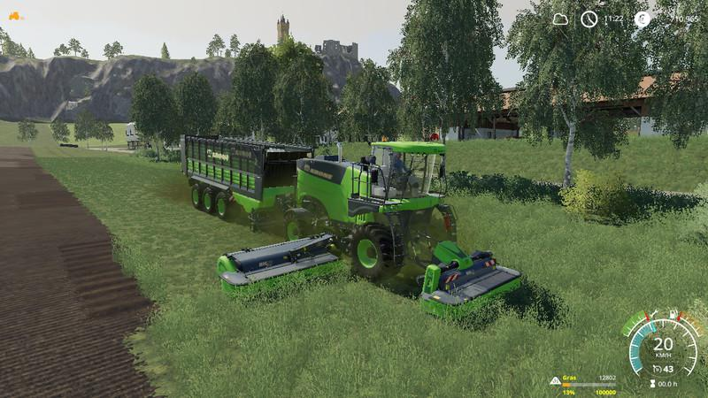 KRONE PACK OY MP V19.6 для Farming Simulator 2019