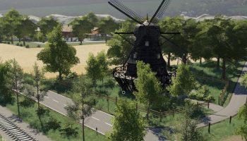 MUHLENKREIS MITTELLAND FS19 V1.0.2 для Farming Simulator 2019