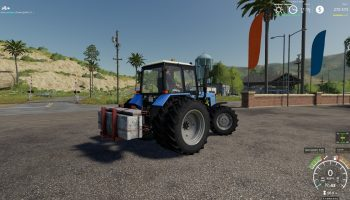 ПРОТИВОВЕС V 1.0.0.0 для Farming Simulator 2019