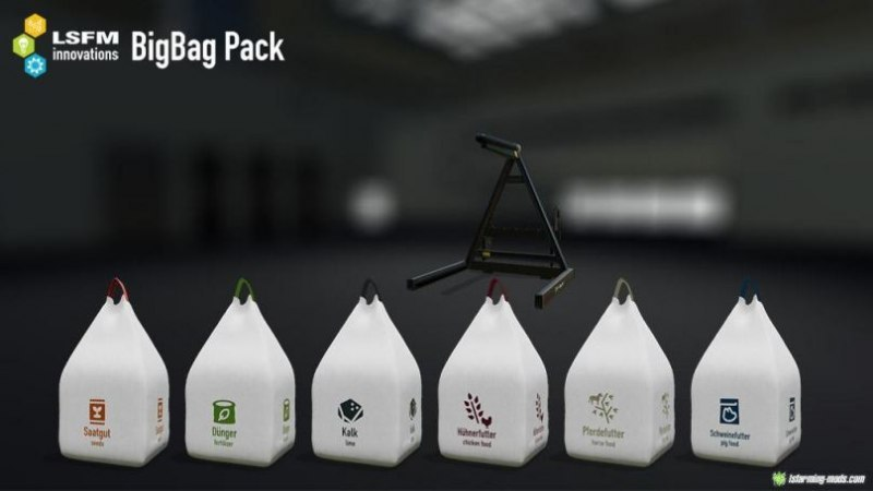 LSFM Big Bag Pack (v1.0) для Farming Simulator 2019