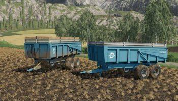 MOД DUCHESNE 14T V1.0.0.0 для Farming Simulator 2019