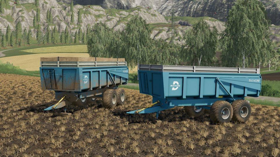 MOД DUCHESNE 14T V1.0.0.0 для Farming Simulator 2019