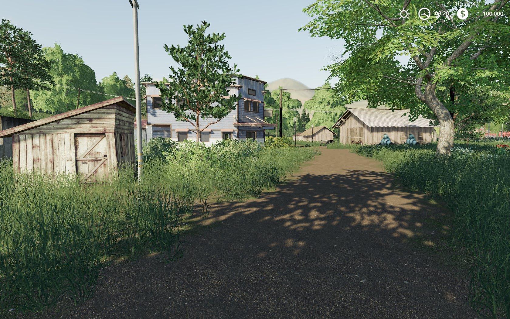 КАРТА «OLD FAMILY FARM 2019» V1.1 для Farming Simulator 2019