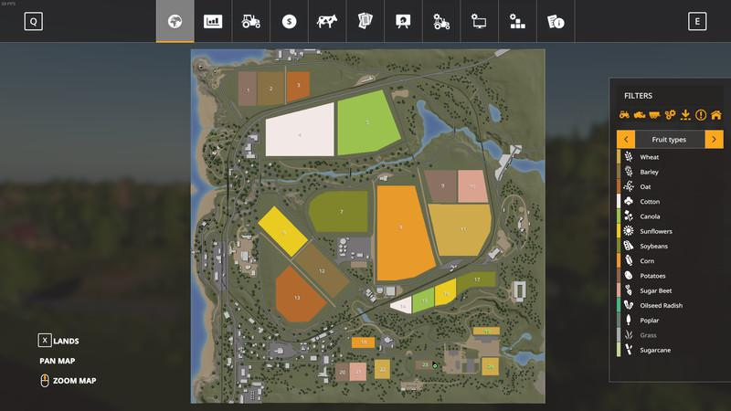 RAVENPORT MCKNIGHTG EDITION V1.0.6.0 для Farming Simulator 2019