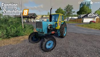 ЮМЗ 6Л V1.0.0.0 для Farming Simulator 2019