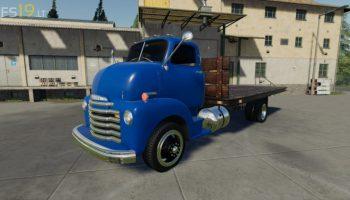 1948 Chevy Flatbed v 1.0 для Farming Simulator 2019