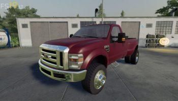 2010 Ford F-350 Reg Cab v 1.0 для Farming Simulator 2019