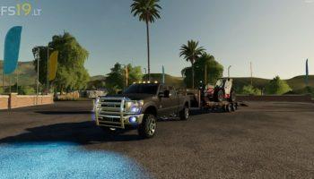 2011 Ford F-350 Crew Cab v 1.1 для Farming Simulator 2019