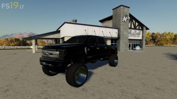 2018 Ford F-350 King Ranch v 1.0 для Farming Simulator 2019