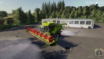 Claas Lexion 795 Monster Limited Edit v2.0 для Farming Simulator 2019