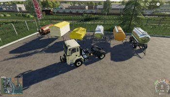 Man TGS 18.500 4X4 Modul для Farming Simulator 2019