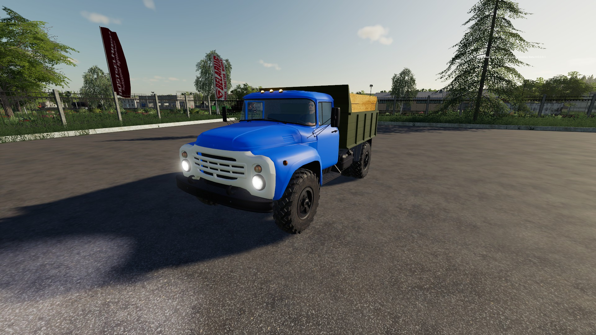 ЗИЛ 4502 v1.0 для Farming Simulator 2019