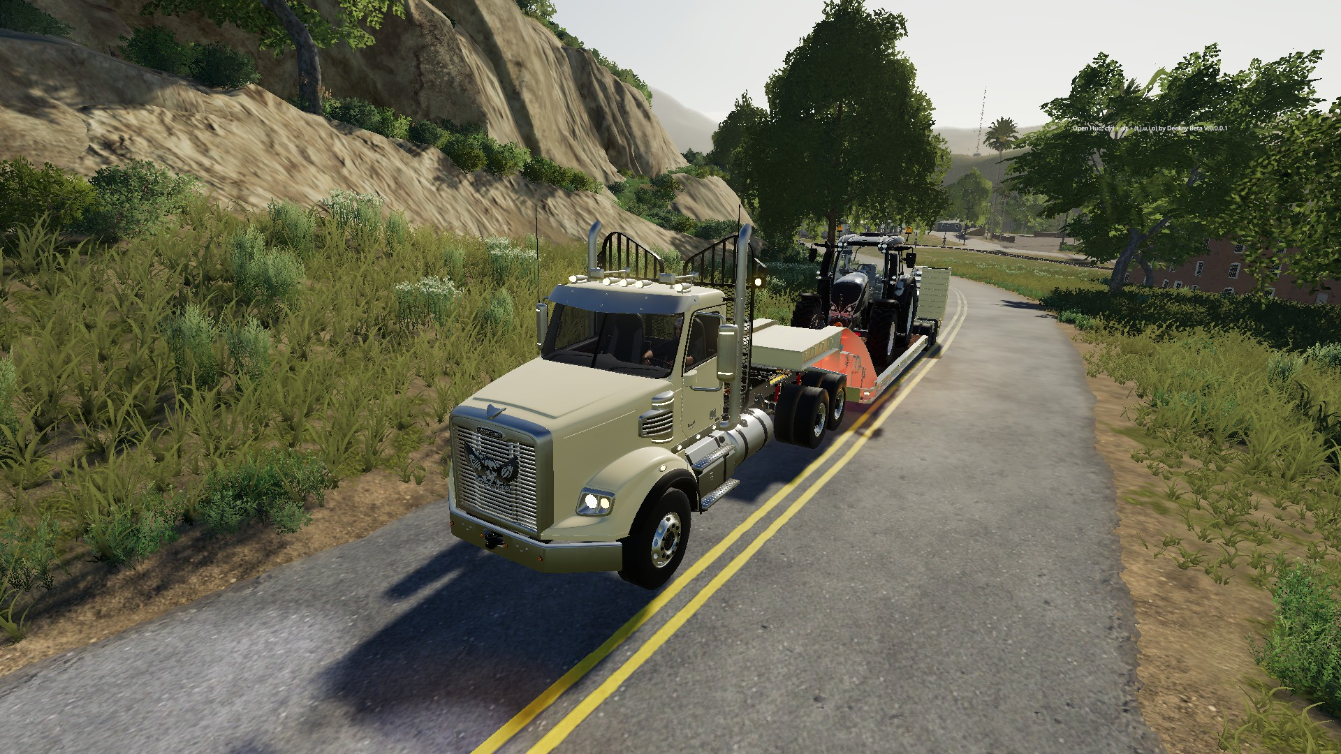 Freightliner Coronado SD v1.0 для Farming Simulator 2019