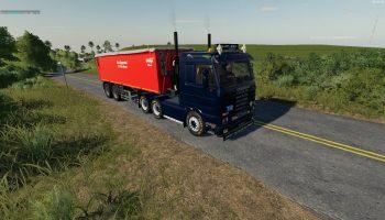 SCANIA 143 6×4 v1.0 для Farming Simulator 2019