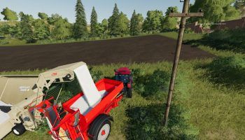 Fliegl Overload Station v1.0.1.1 для Farming Simulator 2019