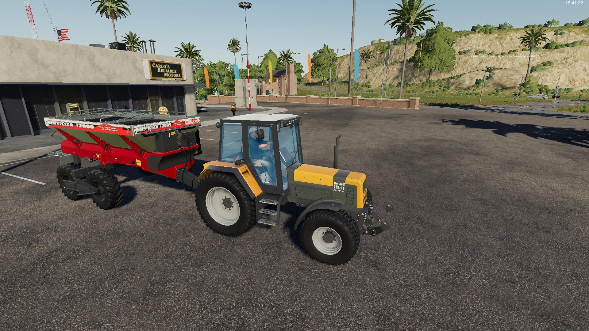 Удобрялка Baldan Fertiliza 12000 v1.0 для Farming Simulator 2019