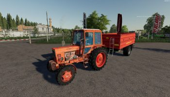 MTZ 82 v1.0.1.0 для Farming Simulator 2019