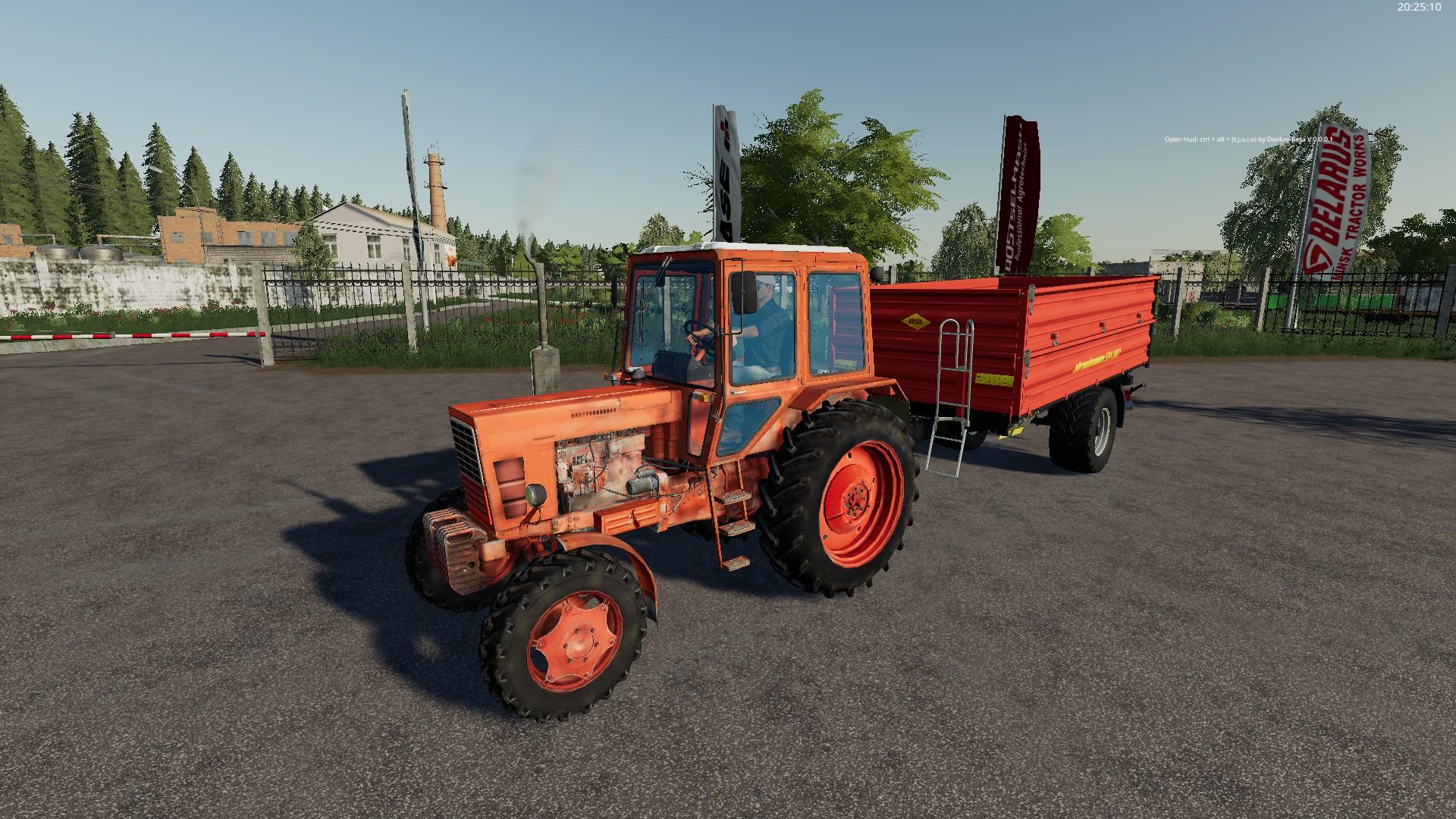 MTZ 82 v1.0.1.0 для Farming Simulator 2019