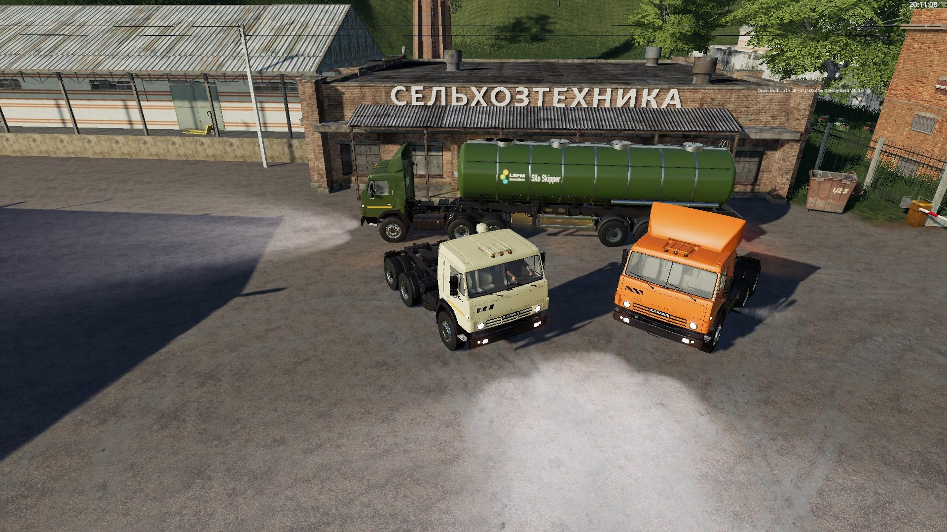 Тягач КамАЗ 5410 V1.0.0.0 для Farming Simulator 2019
