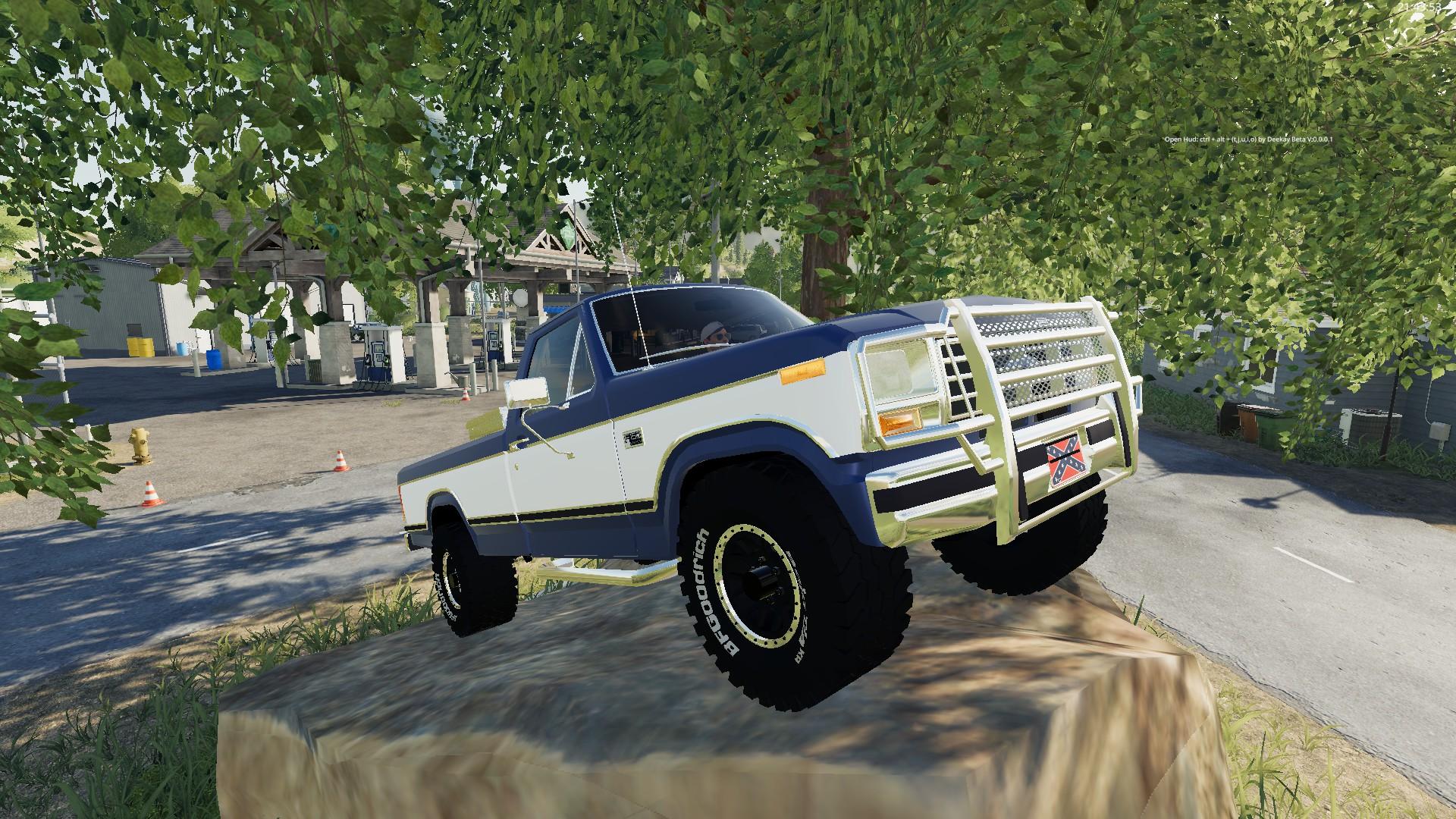 1985 Ford F150 для Farming Simulator 2019