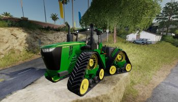 John Deere 9RX v1.0.0.0 для Farming Simulator 2019