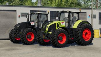 CLAAS AXION 900 V1.0.1.0 для Farming Simulator 2019