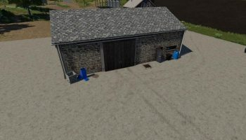 CONVERTED STONE BUILDING V1.0 для Farming Simulator 2019