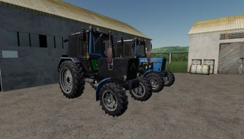 МТЗ-82.1 V1.0.0.0 для Farming Simulator 2019