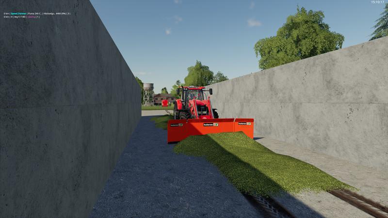 HOLARAS MES400 FRONTLADER-EDITION V1.0 для Farming Simulator 2019
