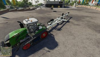 FOLDABLE MULTI TRAILER ATTACHER V1.0 для Farming Simulator 2019