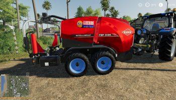 SILAGE BALER WITH 10 METER WIDTH V1.0 для Farming Simulator 2019