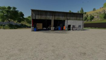 CONVERTED WORKSHOP V1.0 для Farming Simulator 2019
