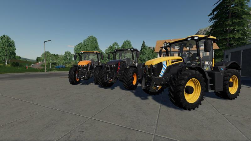 [FBM TEAM] JCB FASTRAC 4000 V1.0.0.0 для Farming Simulator 2019