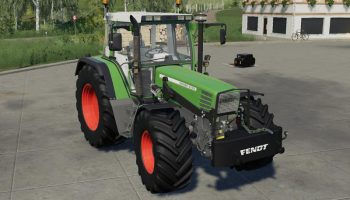 SELF MADE 700KG WEIGHT V1.0 для Farming Simulator 2019