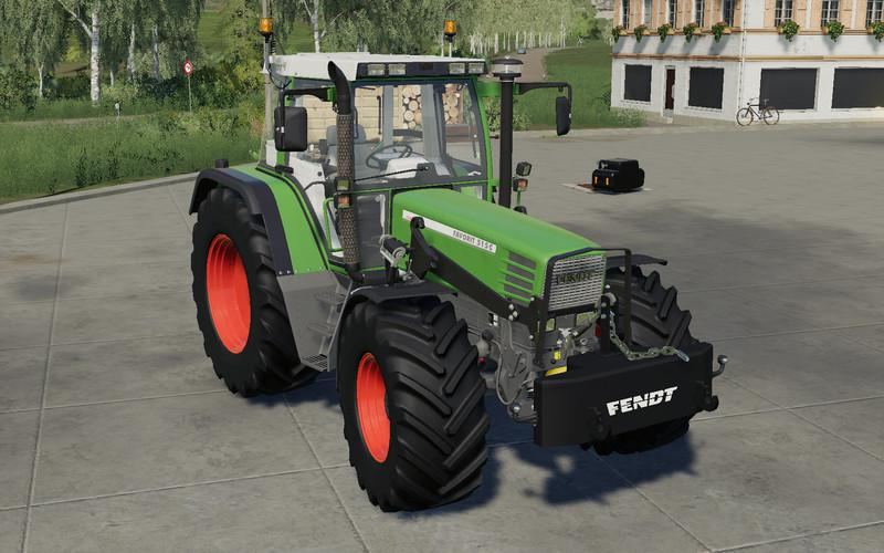 SELF MADE 700KG WEIGHT V1.0 для Farming Simulator 2019