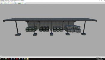 SUPPLIES SHED V1.0 для Farming Simulator 2019