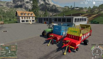 POTTINGER EUROBOSS 330 T V1.0.0.2 для Farming Simulator 2019