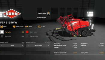 KUHN FBP3135 V1.0.0.0 для Farming Simulator 2019