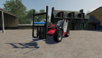 STRAW FORK V1.0.0.0 для Farming Simulator 2019
