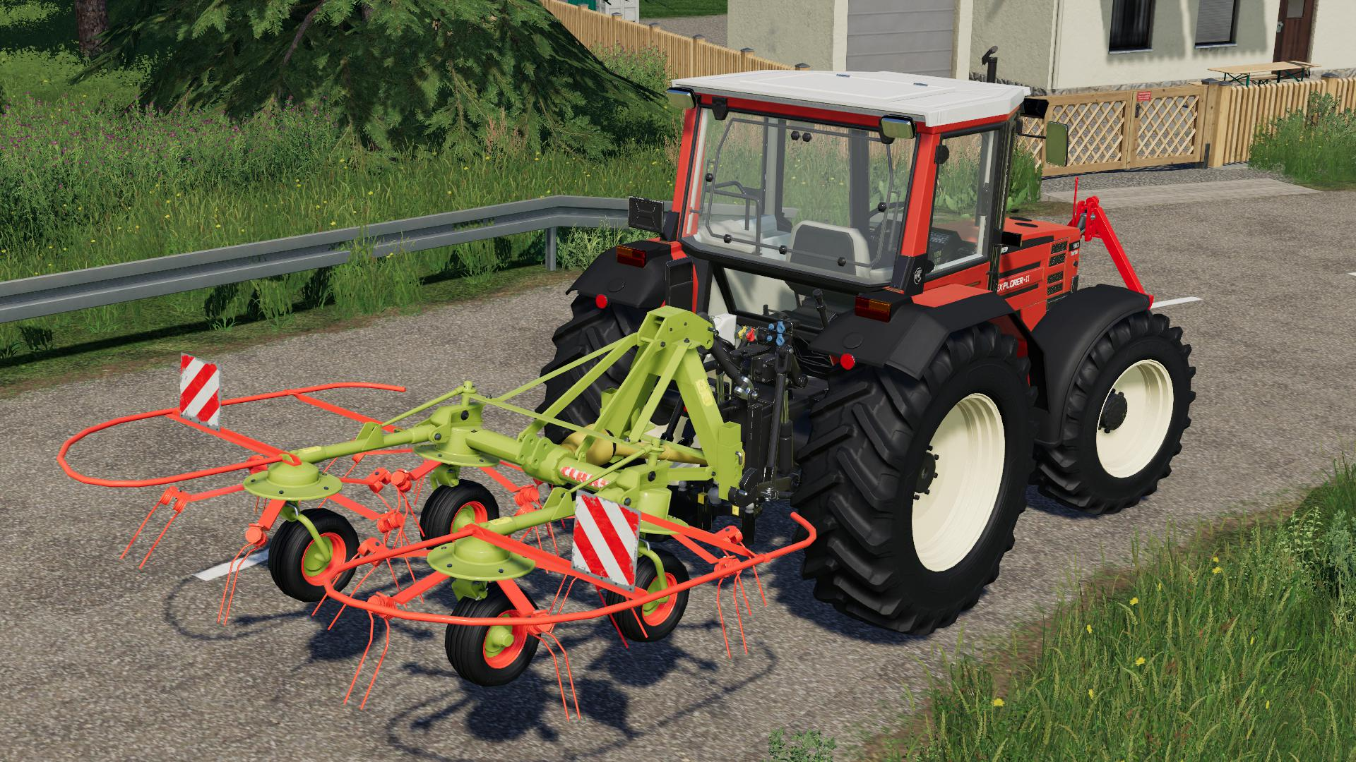 MOД CLAAS WA 450 V1.0.0.0 для Farming Simulator 2019