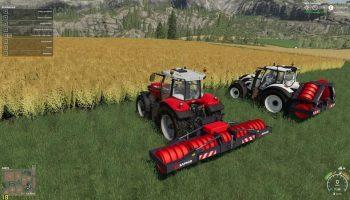 Каток Saphir Stego Roller v1.0.1.0 для Farming Simulator 2019