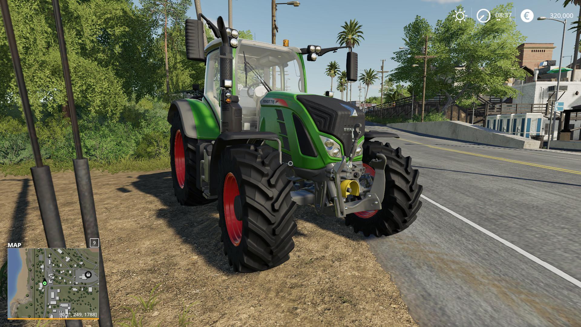 FENDT 700 VARIO V1.0.0.0 для Farming Simulator 2019