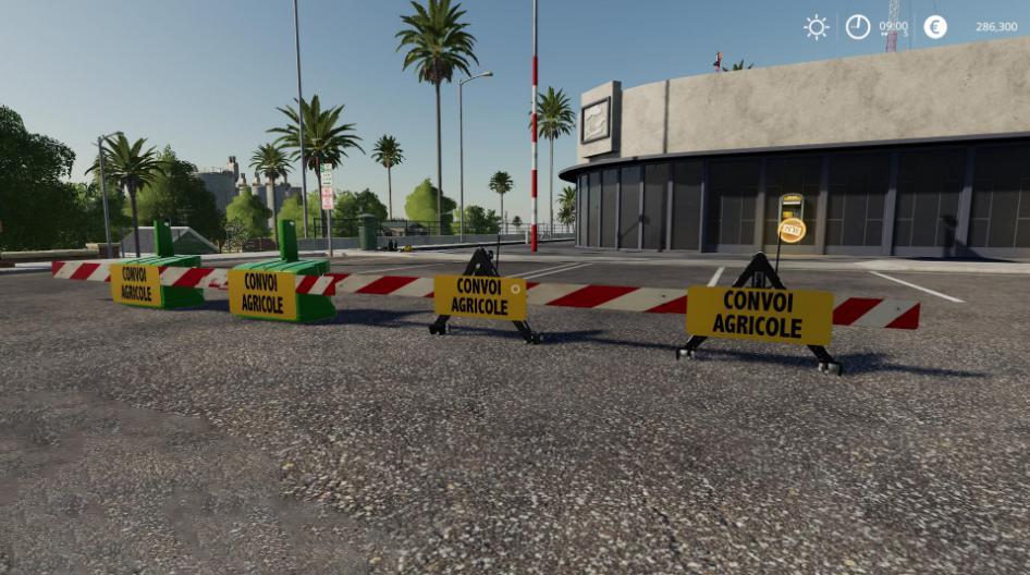 CONVOY SIGNS V1.0 для Farming Simulator 2019