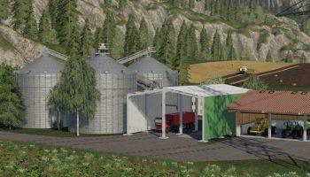 GROSSE SILOANLAGE V1.3 для Farming Simulator 2019
