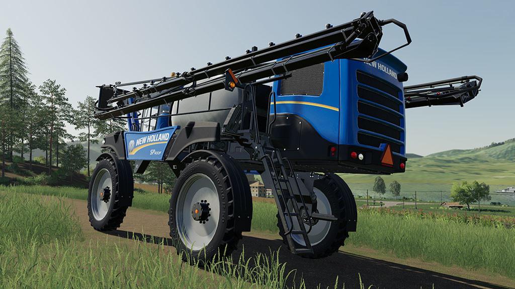 NEW HOLLAND SP400F V1.0.0.0 для Farming Simulator 2019